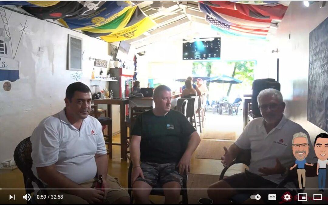Interview with owner of Malibu's beach bar
